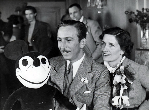 Walt and Lilly in London