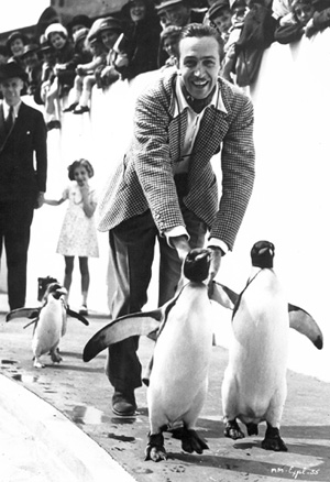 Walt at the London Zoo