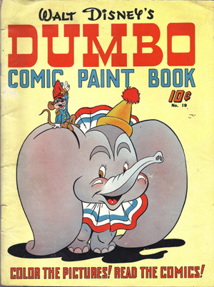 Dumbo Comic Paint Book