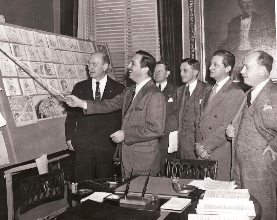 Walt at Washington