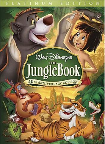 หนังการ์ตูนThe Jungle Book -เมาคลีลูกหมาป่า