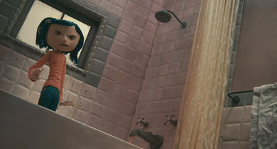 Depth cues in Coraline